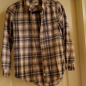Van's plaid shirt